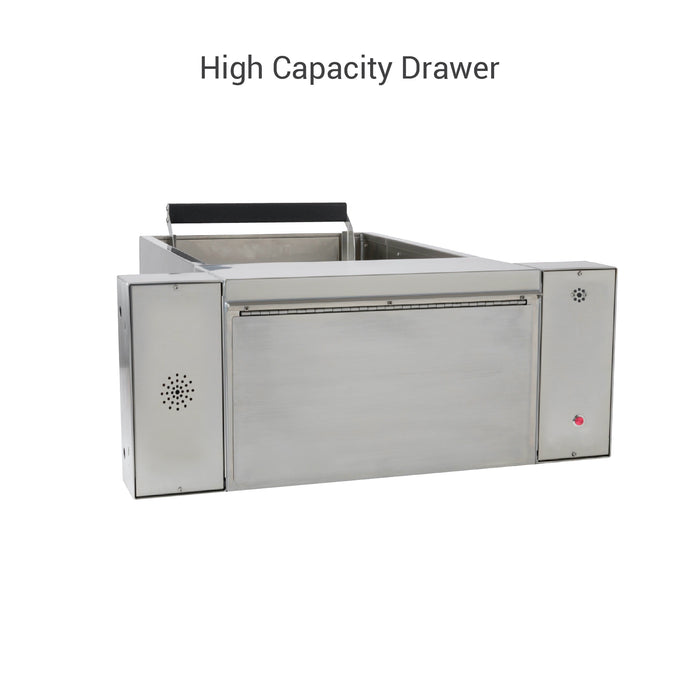 Complete pharmacy package drive-thru high capacity drawer