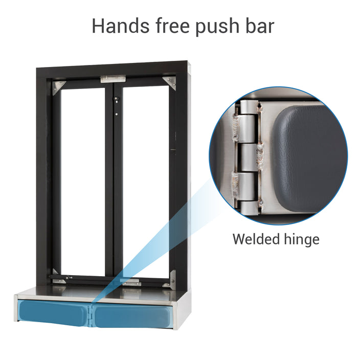 Push Bar Bi-Fold Transaction Window push bar