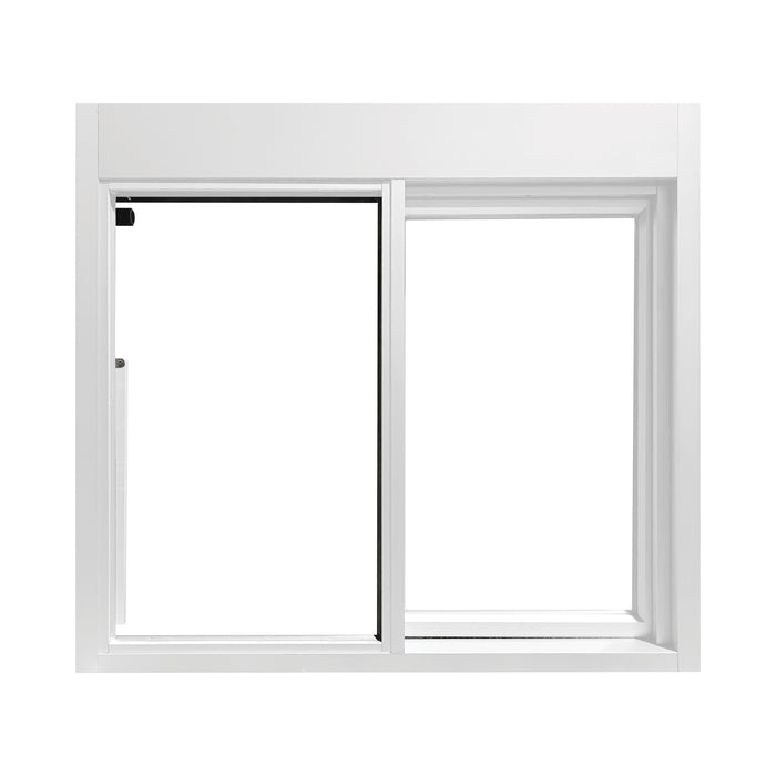 White 275-SC Ready Access Self Closing Drive-Thru Slider Window Multiple Colors