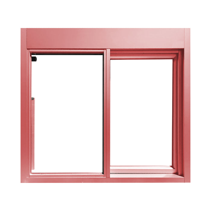 275-SC Ready Access Self Closing Drive-Thru Slider Window Multiple Colors Pink 275-SC Ready Access Self Closing Drive-Thru Slider Window Multiple Colors