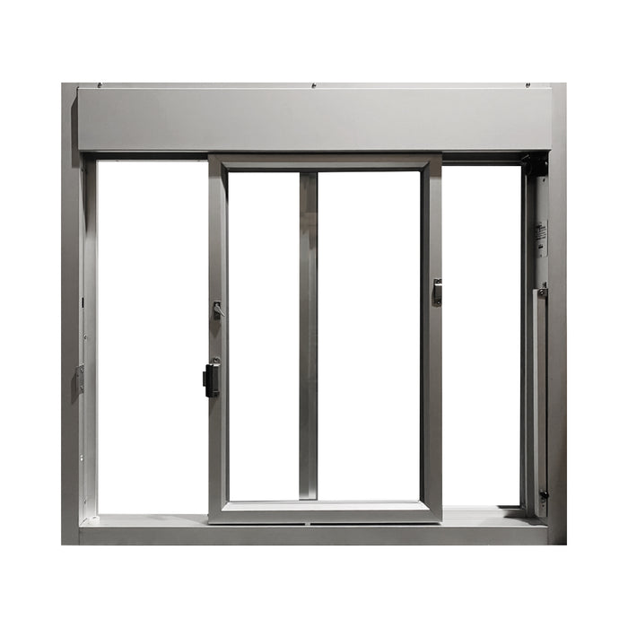 Clear 275-SC Ready Access Self Closing Drive-Thru Slider Window Multiple Colors