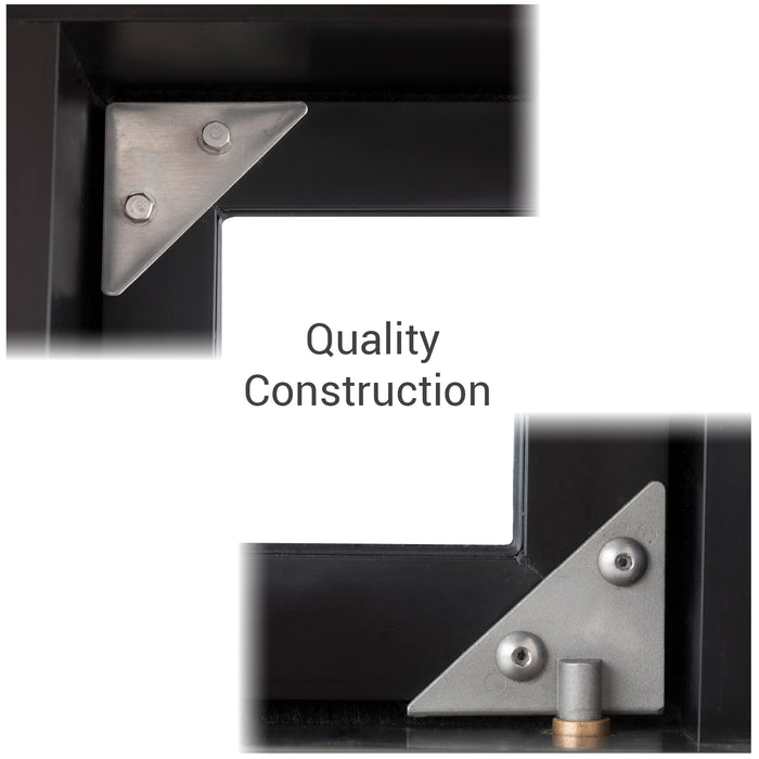 CM-1 Bi-Fold transaction window quality construction