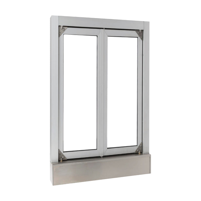 CM-1 Bi-Fold transaction window clear