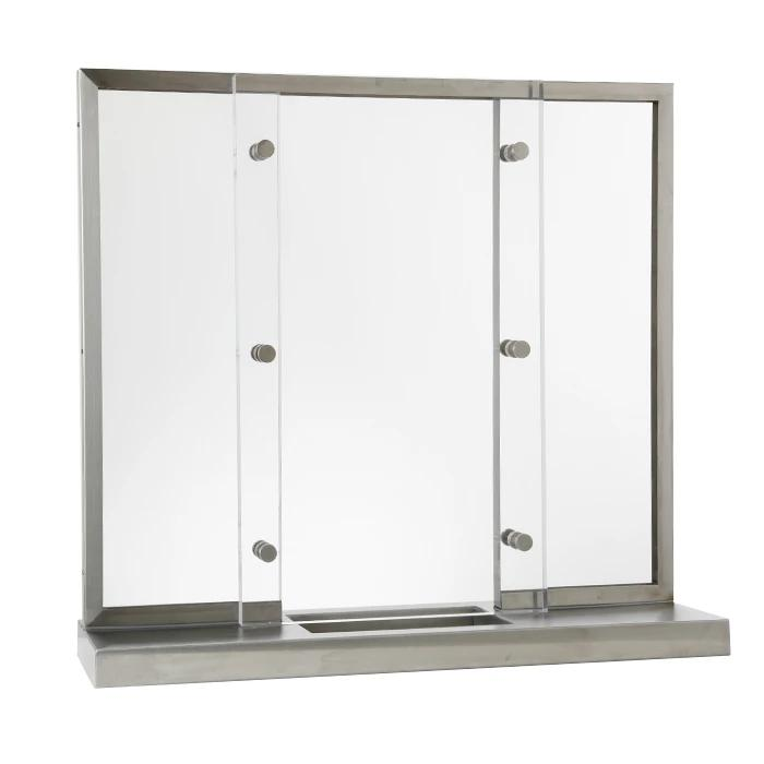 Baffled Transaction Window with Roxbury Design along with base and deal tray