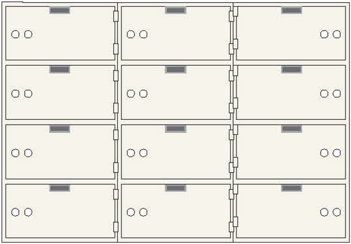 CSE-B-AX-12 Safe Deposit Box