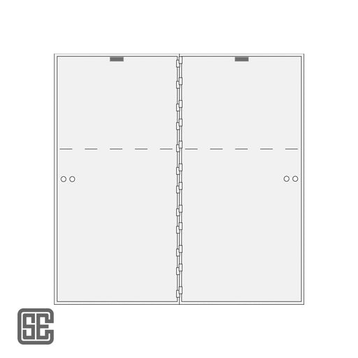 CSE-B-AXL-2-33 Series Teller Lockers