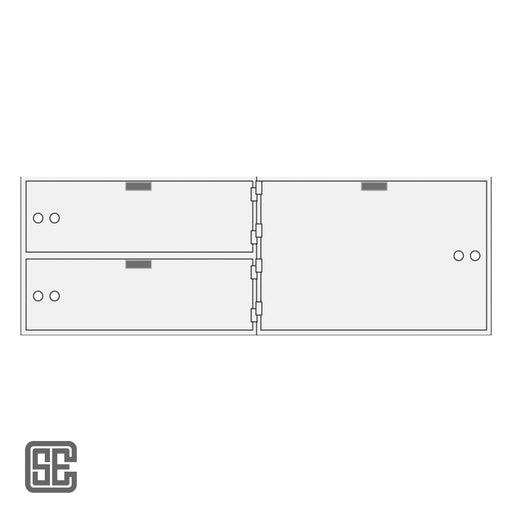 CSE-B-AXL-3-10 Series Teller Lockers