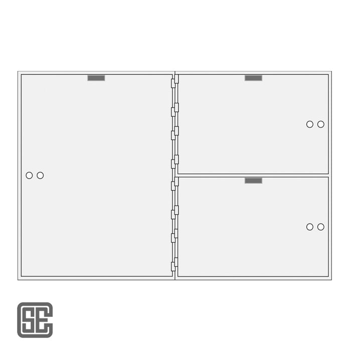 CSE-B-AXL-3-22 Series Teller Lockers