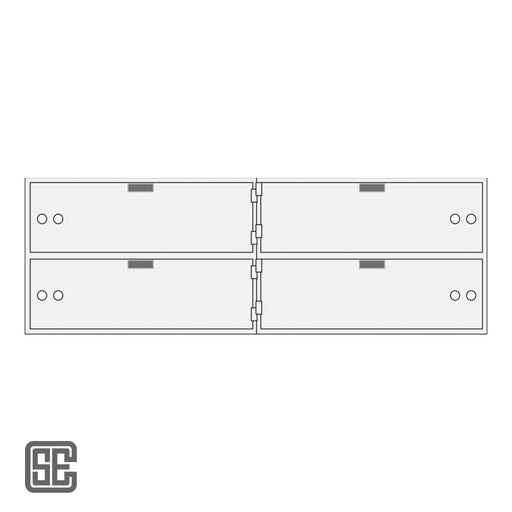 CSE-B-AXL-4-10 Series Teller Lockers