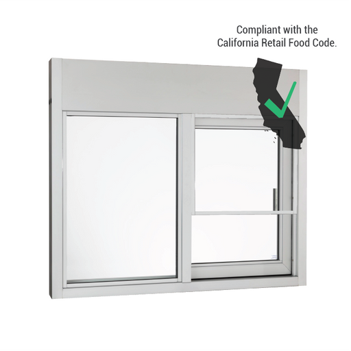 California Automatic Drive-thru Window CSE-QS-SS-CA-4035E
