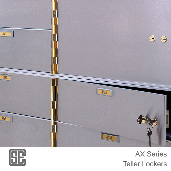 CSE-B-AXL-2-10 Series Teller Lockers