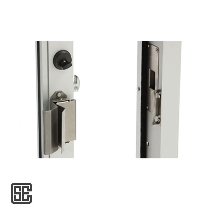 Drive-Thru Sliding Window Secure Latch