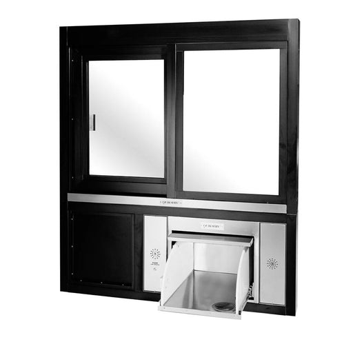 Pharmacy Window With Tempered Safety Glass