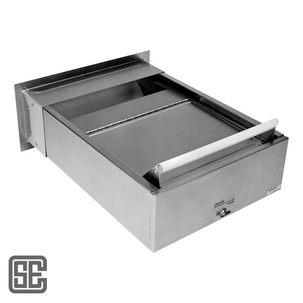 Automatic Locking Stainless Steel Transaction Drawer