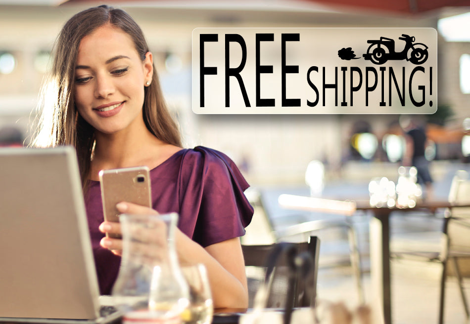 FREE SHIPPING FOR ALL!