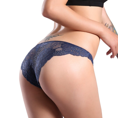 Sexy See Through FLora Lace Hipster Panty