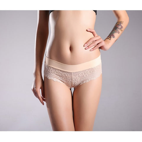 Comfortable Lace Transparent Hipster