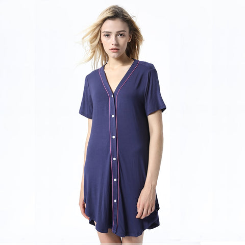 Short Sleeve Nightgown