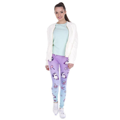 Unicorn Printed Leggings