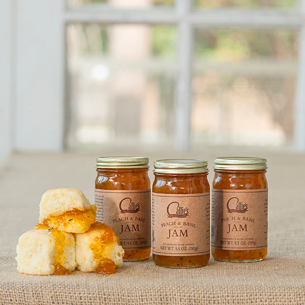 Callie's Charleston Biscuits LLC - Peach Basil Jam