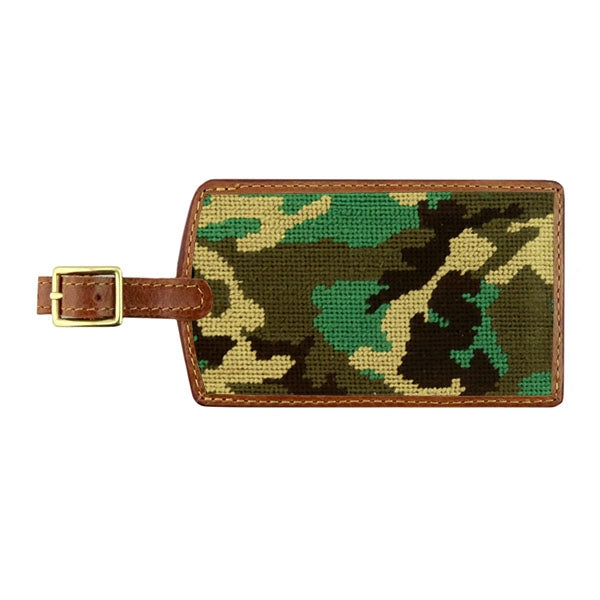 Camo Luggage Tags