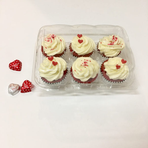 Red velvet cupcakes 6 count