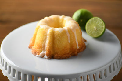 A Little Slice of Heaven Bakery - Key Lime Mini Bundt Cake