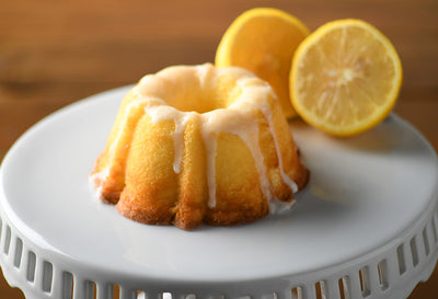 A Little Slice of Heaven Bakery - Lemon Pound Mini Bundt Cake