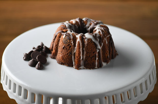 A Little Slice of Heaven Bakery - Chocolate Mini Bundt Cake