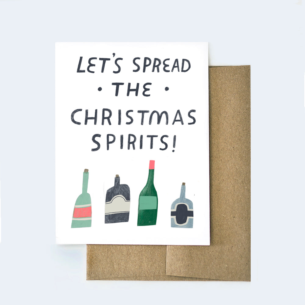 Christmas Spirits Card