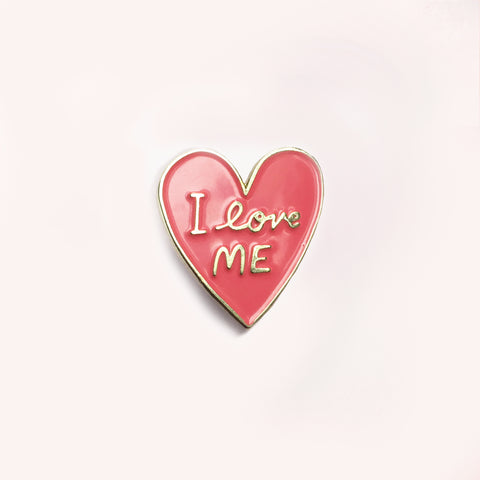 I Love Me Enamel Pin