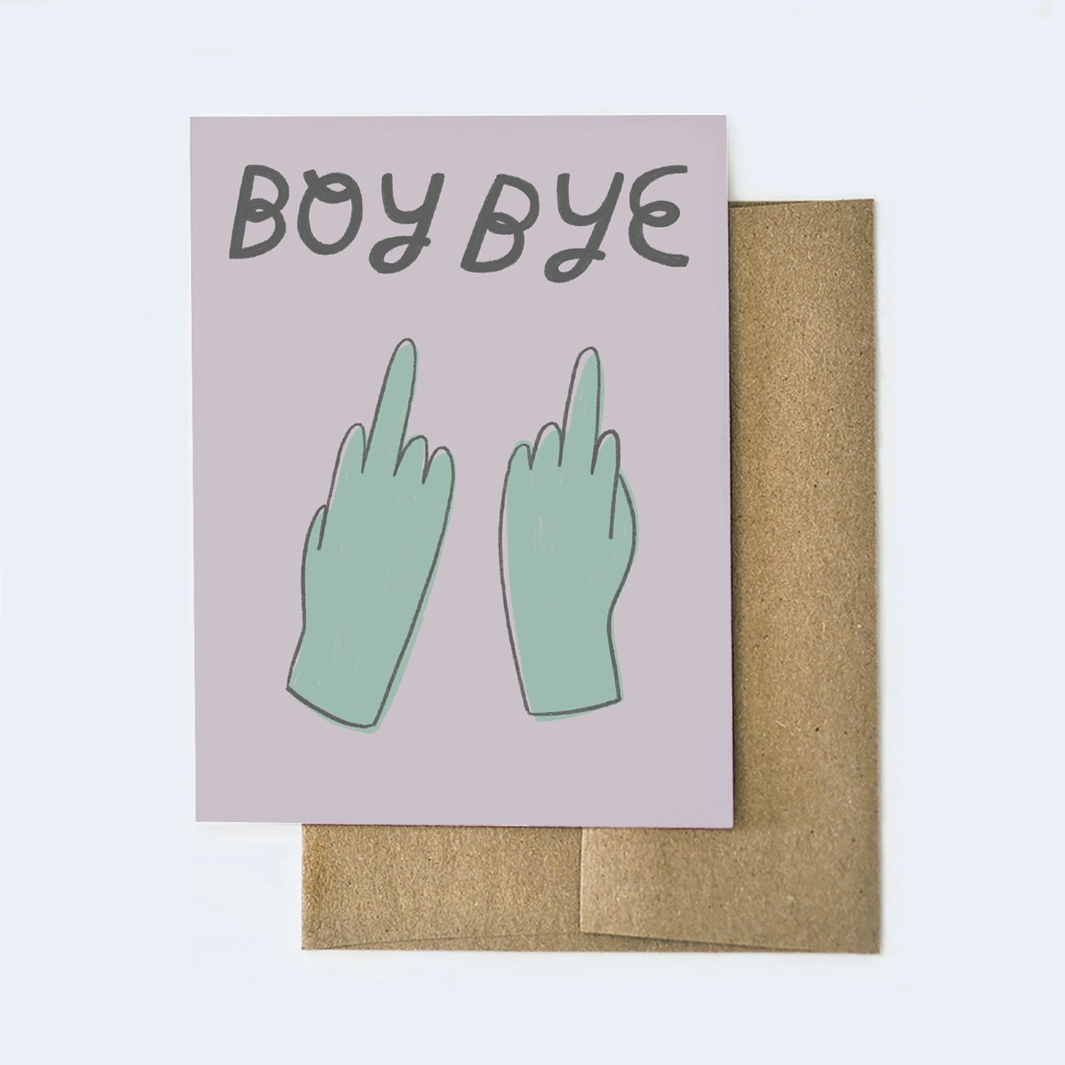 Boy Bye Card