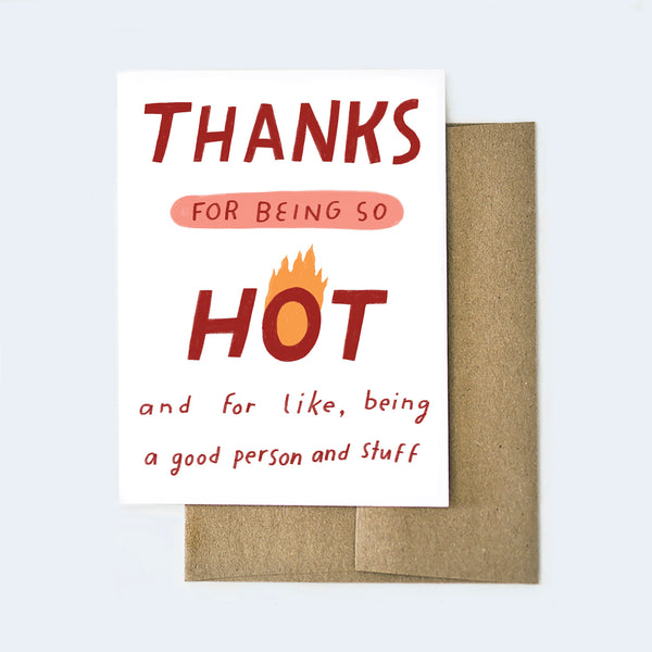 Thanks for Being So Hot Card
