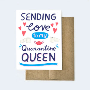 Quarantine Queen Card
