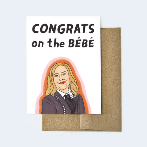 Congrats On The BeBe Card