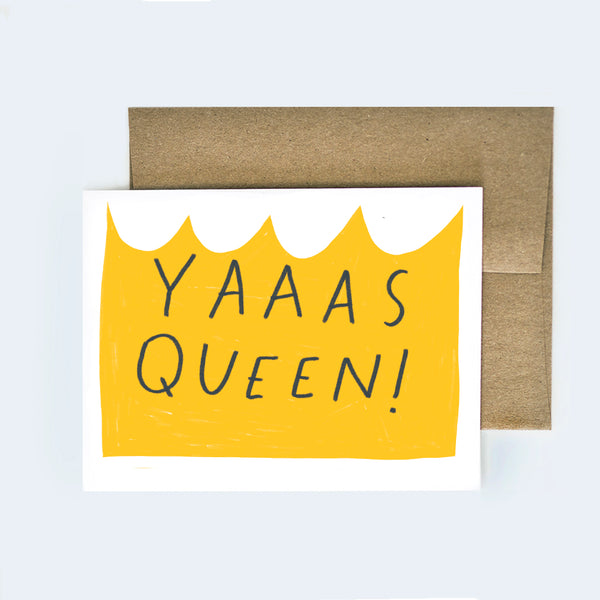 Yas Queen Card