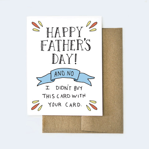 Funny Father's Day Card for Dad