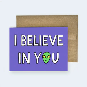 I Want to Believe Card