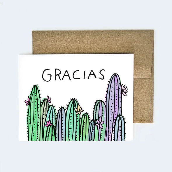 Gracias Thank You Card