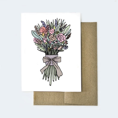 Bouquet Love Card
