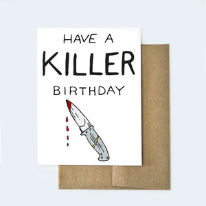Killer Birthday Card
