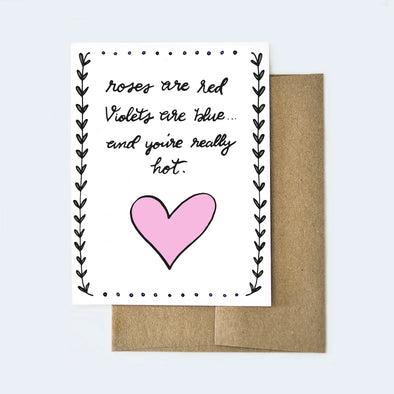 Valentine's Day Poem Card