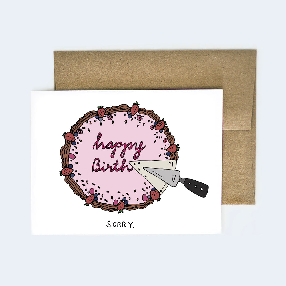 Happy Birth...day Card