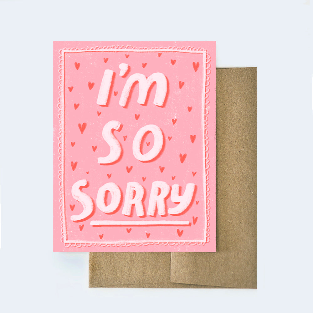 So Sorry Sympathy Card