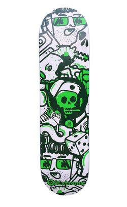 iExtreme Money Problems Pro Skateboard Deck 8.0