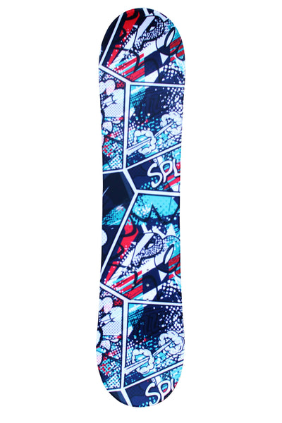 iExtreme 'Comic Fury' Child's Snowboard - iExtreme