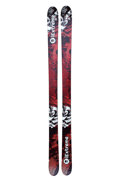 iExtreme 'Dead Red' Twin Tip Skis - iExtreme