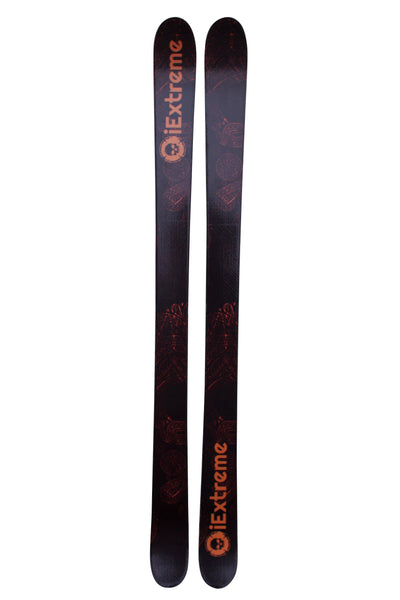 iExtreme 'Black Edition' Twin Tip Skis - iExtreme