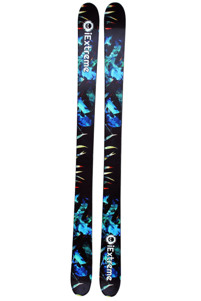 iExtreme Blue Tropic Freestyle Skis 160cm - iExtreme
