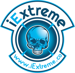iExtreme 10cm High Skateboard Sticker - iExtreme